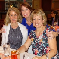 "Judy and Kathy celebrate with new ""grad"" mom, Class of 2019"